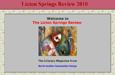 Licton Springs Review 2010